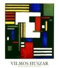Vilmos Huszar (1884-1960)  -  Comp-met Witte Kop - Poster -  PS137-1