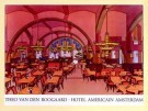 Theo v.d. Boogaard (1948)  -  Hotel Americain - Postkaart -  PS197-1