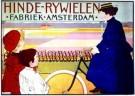 J.G.van Caspel (1870-1926)  -  Hinde Rijwielen/ 61*86/ K - Postkaart -  PS240-1