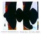 Robert Motherwell (1915-1991)  -  Elegy of. - Postkaart -  PS391-1