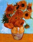 Vincent van Gogh (1853-1890)  -  Sunflowers - Postkaart -  PS488-1