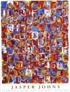 Jasper Johns (1930)  -  Nrs in Color - Postkaart -  PS494-1