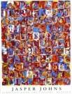 Jasper Johns (1930)  -  Nrs in Color - Postkaart -  PS494-1