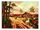 Cornelis Jetses (1873-1955)  -  Heide in mei - Postkaart -  PS545-1