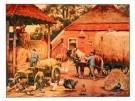 Cornelis Jetses (1873-1955)  -  Laatste hooivr - Postkaart -  PS548-1