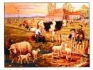 Cornelis Jetses (1873-1955)  -  In de weide - Postkaart -  PS551-1