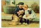 Cornelis Jetses (1873-1955)  -  Ot en Sien - Postkaart -  PS552-1