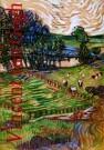 Vincent van Gogh (1853-1890)  -  van Gogh/Tekening,rood/Mondado - Postkaart -  PS682-1
