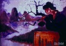 Nico Vrielink (1958)  -  Bloesemvrouw - Postkaart -  PS797-1