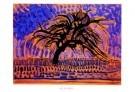 Mondriaan (1872-1944)Mondrian  -  De blauwe boom - Postkaart -  PS824-1