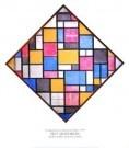 Mondriaan (1872-1944)Mondrian  -  Compostiei ruitvorm - Postkaart -  PS844-1
