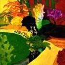 Jeroen Krabbe (1944)  -  The Garden VII - Postkaart -  PS978-1