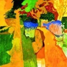 Jeroen Krabbe (1944)  -  The Garden X - Postkaart -  PS979-1