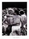 Vincent Mentzel (1945)  -  Zoenende mannen - Poster -  PSBW006-1