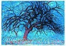 Mondriaan (1872-1944)Mondrian  -  De rode boom - Postkaart -  QA016-1