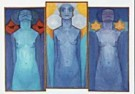 Mondriaan (1872-1944)Mondrian  -  Evolutie - Postkaart -  QA018-1