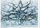 Mondriaan (1872-1944)Mondrian - De grijze boom - Postkaart - QA020-1