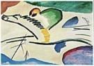 Vassily Kandinsky (1866-1944)  -  Lyrisch - Postkaart -  QA035-1