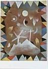 Paul Klee (1879-1940)  -  Uber Bergeshohen - Postkaart -  QA036-1
