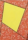 Robert Mangold (1937)  -  R.Mangold/Hom.to v.Gogh/StvG - Wenskaarten-set -  QA070-1