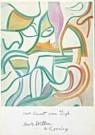 Willem de Kooning (1904-1997)  -  deKooning/Hom.vanGogh/StvG/mt - Wenskaarten-set -  QA081-1