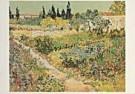 Vincent van Gogh (1853-1890)  -  van Gogh/ Tuin te Arles/HGM - Postkaart -  QA087-1