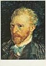 Vincent van Gogh (1853-1890)  -  van Gogh/Self-portrait - Postkaart -  QA093-1
