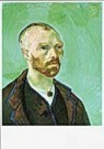 Vincent van Gogh (1853-1890)  -  van Gogh/Self-portrait-Paul G. - Postkaart -  QA095-1
