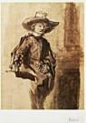 Rembrandt Van Rijn (1606/7-'69 -  Rembrandt/Staalmeester/BvB - Postkaart -  QA108-1