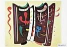Vassily Kandinsky (1866-1944)  -  Kandinsky /Aangevuld bruin/BR - Postkaart -  QA117-1