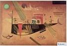 Vassily Kandinsky (1866-1944)  -  Grillig - Postkaart -  QA118-1