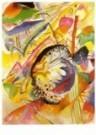 Vassily Kandinsky (1866-1944)  -  Kandinsky/Grote studie/BR - Postkaart -  QA119-1
