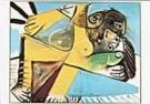 Picasso, Pablo 1881-1973  -  Couple - Postkaart -  QA125-1