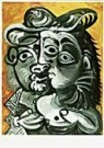 Pablo Picasso (1881-1973)  -  Picasso/Couple/BvB/BR - Postkaart -  QA126-1