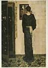 George H. Breitner (1857-1923) -  G.H.Breitner/Oorringetje/BvB - Postkaart -  QA129-1