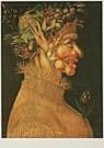 G. Arcimboldo 1526/30-1593  -  Arcimbaldo/The Summer/KMW - Postkaart -  QA131-1