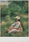 Pierre-Auguste Renoir (1841-19 -  P.A.Renoir/Jong meisje/BvB - Postkaart -  QA132-1