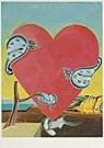Paul Giovanopoulos (1939)  -  Heart A - Postkaart -  QA141-1