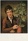Rembrandt Peale (1778-1860)  -  R.Peale/R.Peale+geranium/NGW - Postkaart -  QA197-1