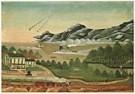 Leila T. Bauman  -  L.T.Bauman/Geese in Flight/NGW - Postkaart -  QA205-1