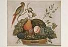 A.M. Randall 18th century  -  A.M.Randall/Basket fruit/NGW - Postkaart -  QA206-1
