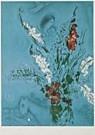 Marc Chagall (1887-1985)  -  Composition - Postkaart -  QA216-1