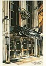 Ronald Kleemann (1937-2014)  -  Kleemann/Hard Rock Cafe/LKM - Postkaart -  QA217-1