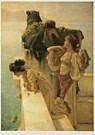 Sir L.Alma-Tadema(1836-1912)  -  Een gunstig uitkij - Postkaart -  QA246-1