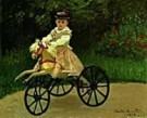 Claude Monet (1840-1926)  -  C.Monet/J. Monet on his Hobby - Postkaart -  QA267-1