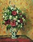 Camille Pissarro (1830-1903)  -  C.Pissarro/Vase of Flowers - Postkaart -  QA269-1