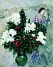 Marc Chagall (1887-1985)  -  M.Chagall/The White Lilacs - Postkaart -  QA271-1