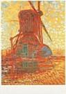Mondriaan (1872-1944)Mondrian  -  Molen bij zonlicht - Postkaart -  QA313-1
