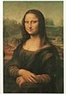 Leonardo da Vinci (1452-1519)  -  Mona Lisa - Postkaart -  QA315-1