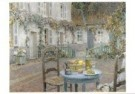 Henri le Sidaner (1862-1939)  -  De blauwe tafel - Postkaart -  QA317-1
